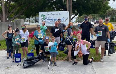Group gives some TLC to Pinellas Trail