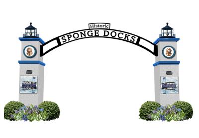 Proposed Sponge Docks entrance sign delayed again