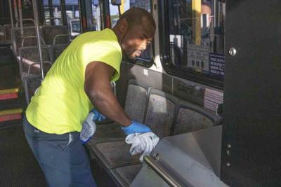 PSTA limits bus occupancy to no more than 10 riders