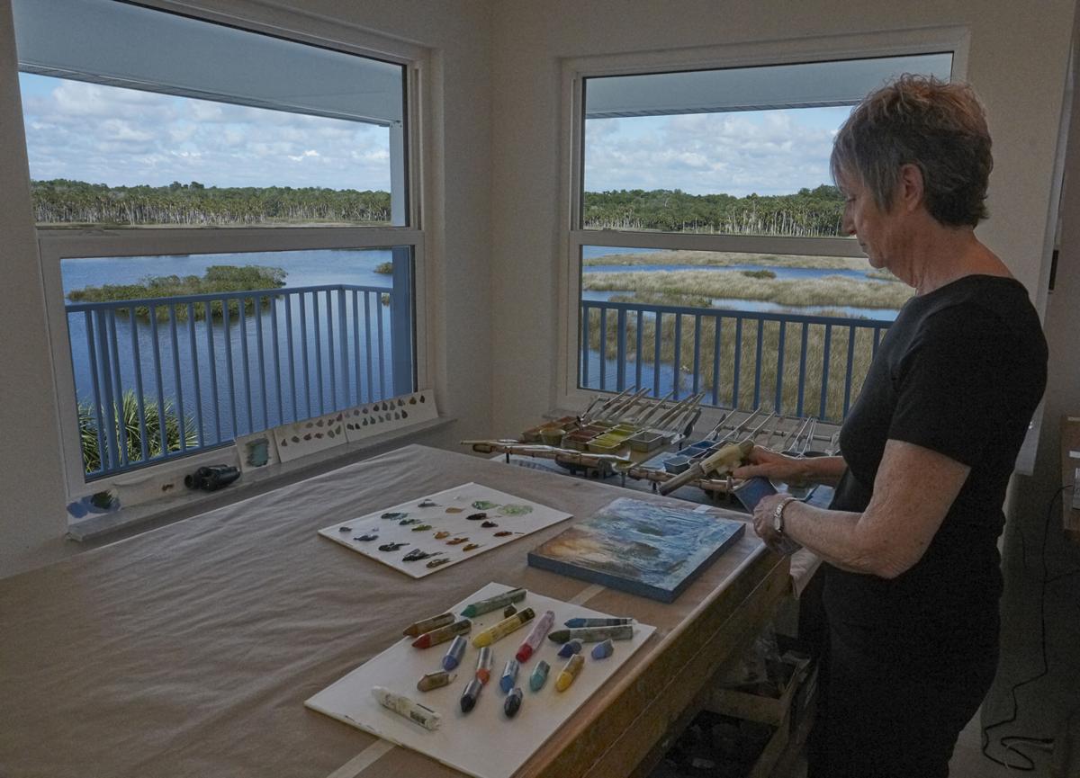 Aripeka landscape artist living the dream