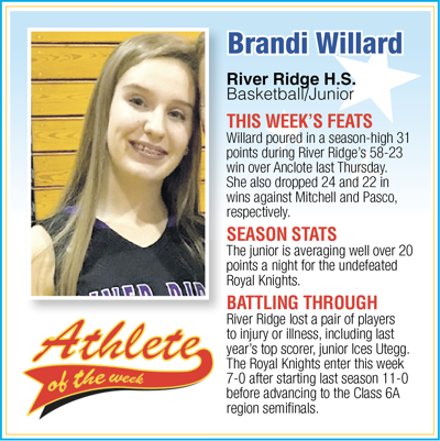 Pasco Athlete of the Week