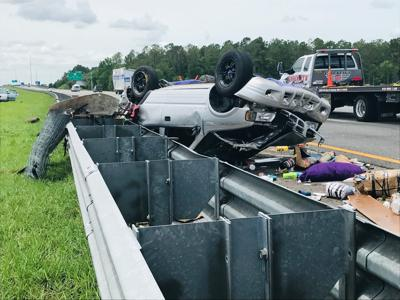 Motorists escape serious injury in I-75 crash