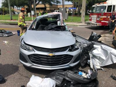 Clearwater PD: Red-light runner causes accident on McMullen Booth