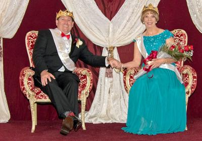 Robert Green and Ellie Paladine crowned Chasco royalty
