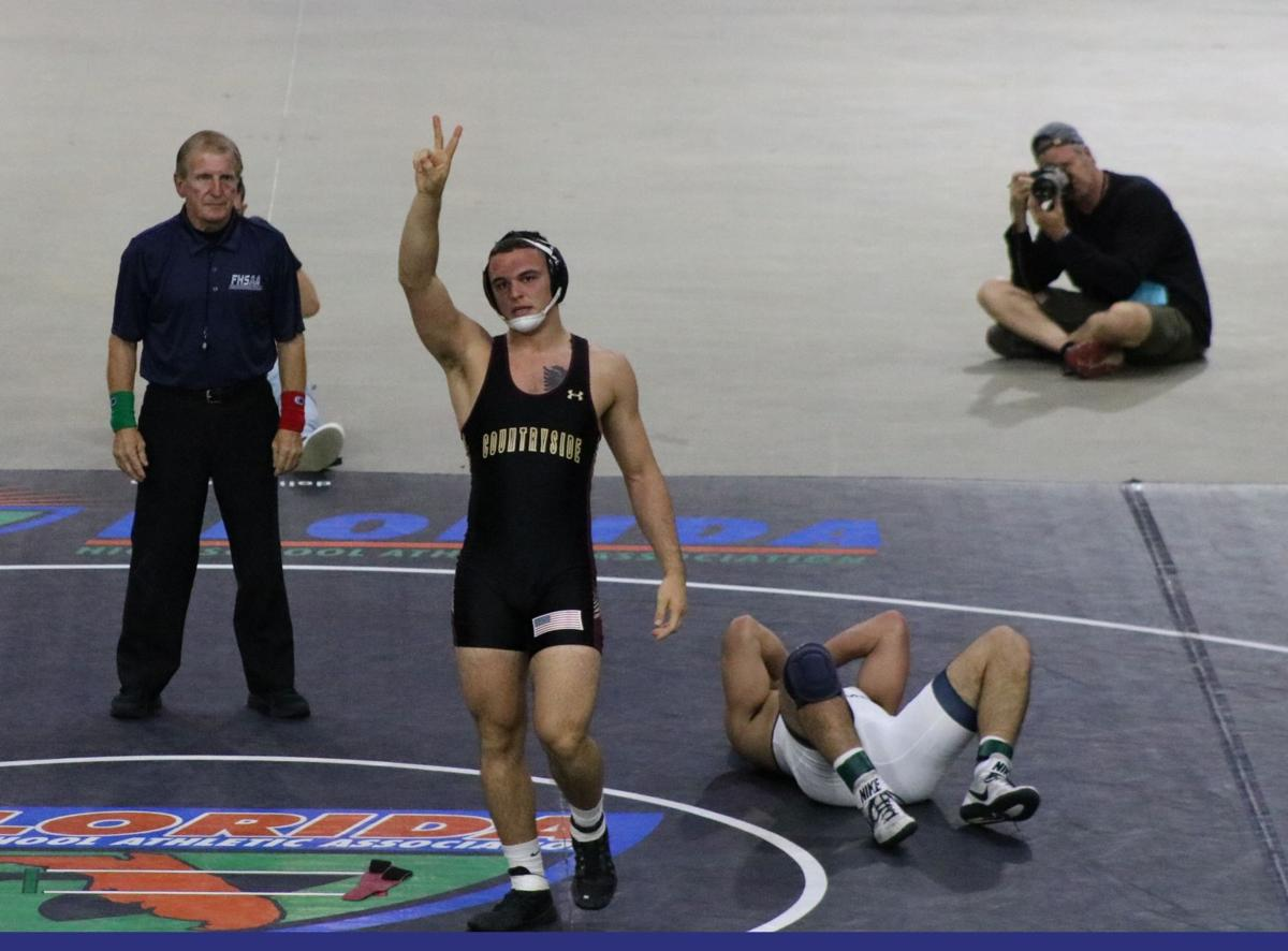 Pinellas shows well at state wrestling meet