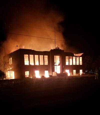 Liberty School fire