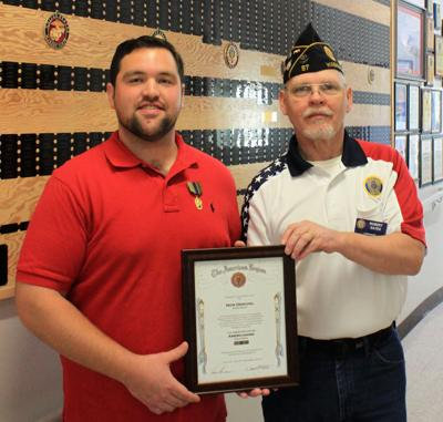 Eagle Scout alumnus honored with award