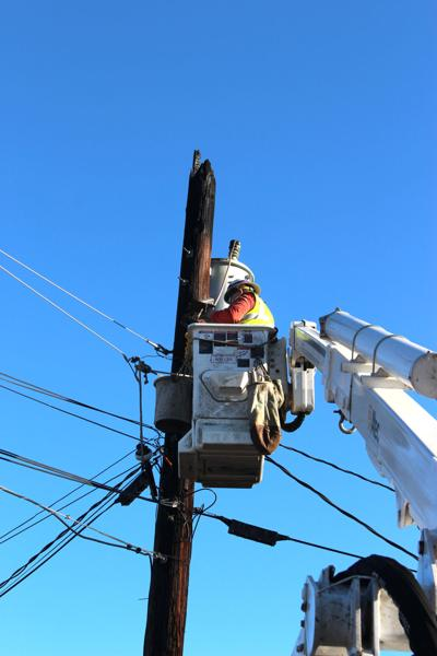 Pacific Power repairman