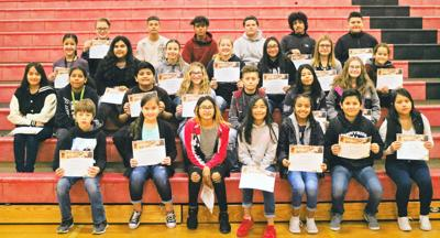 Harrison Middle School November Students of the Month