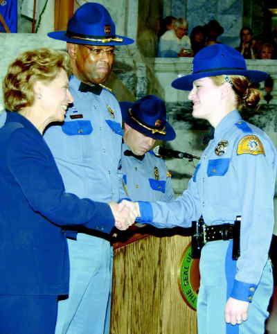 Sunnyside woman new state trooper