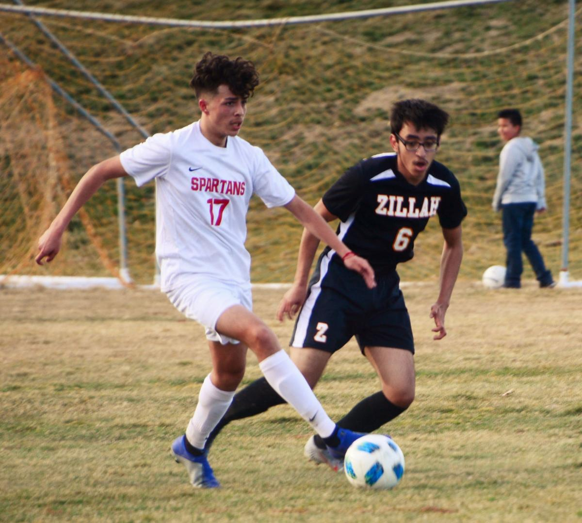 Granger Spartans blank young Zillah Leopards