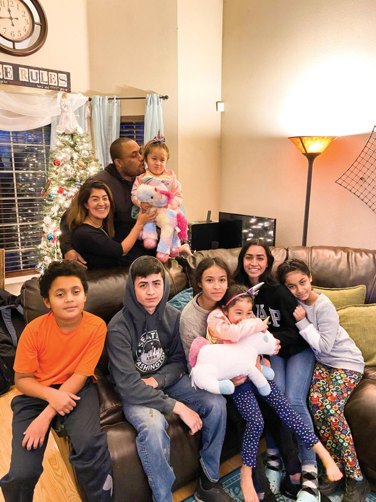 A BLENDED FAMILY