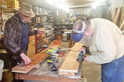 Museum shelving completed for storing town history