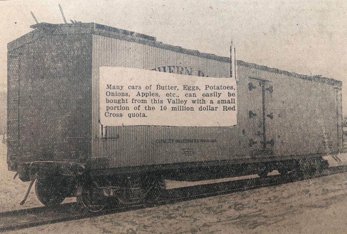 Jan. 29, 1931: BOXCAR PRODUCE