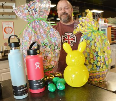 Local businesses egg on community