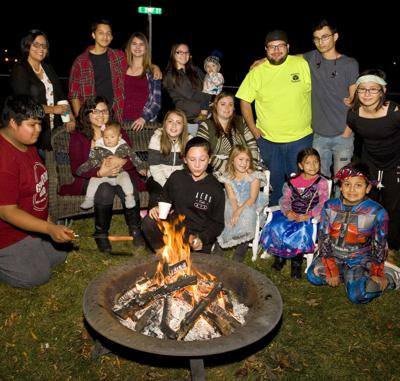 Grandview family hosts Halloween on Elm Street welcome party
