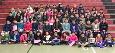 Chief Kamiakin Elementary School December Students of the Month