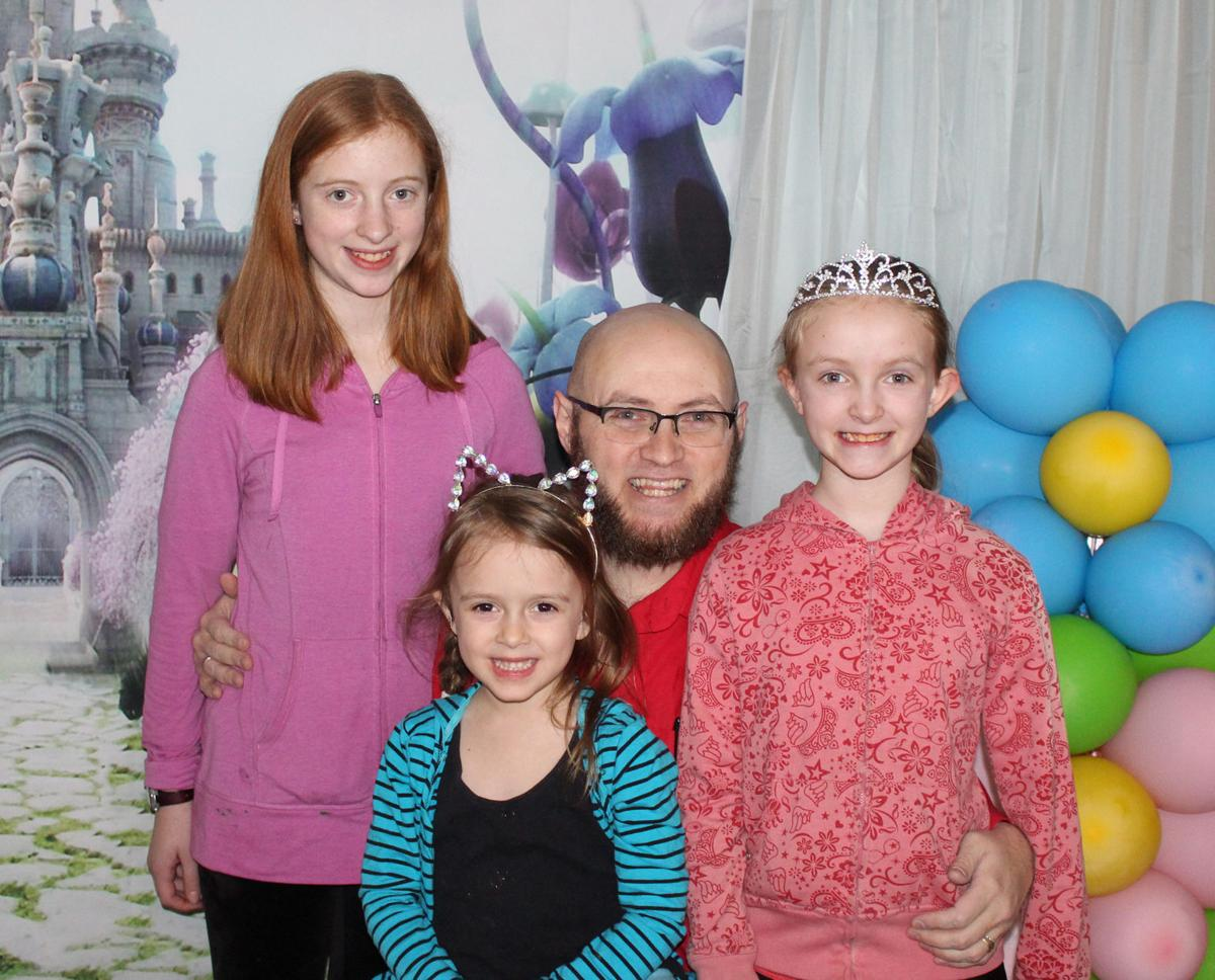 Daddy-daughter dance a hit