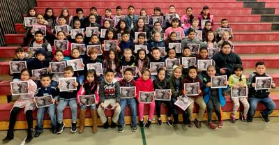 Chief Kamiakin Elementary School January Students of the Month