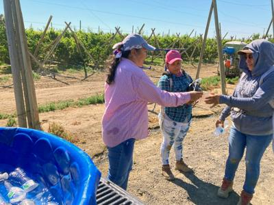 UFW delivers cool relief to area farmworkers
