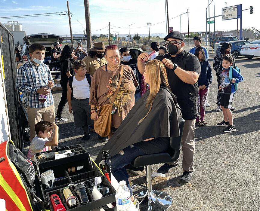Backpacks and Barbers