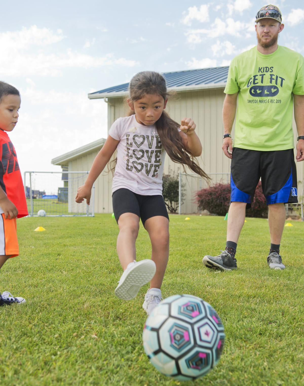 Kids Soccer Camp