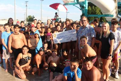 CASH FOR SWIMMERS