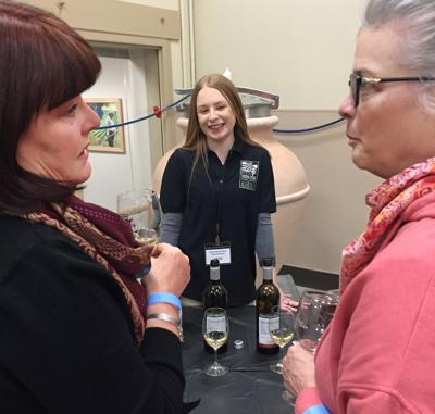 YVC teaching winery hosts colorful tasting