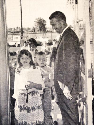 FIRST DAY OF SCHOOL, 1969