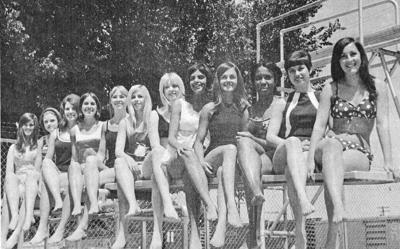MISS SUNNYSIDE CANDIDATES 1969
