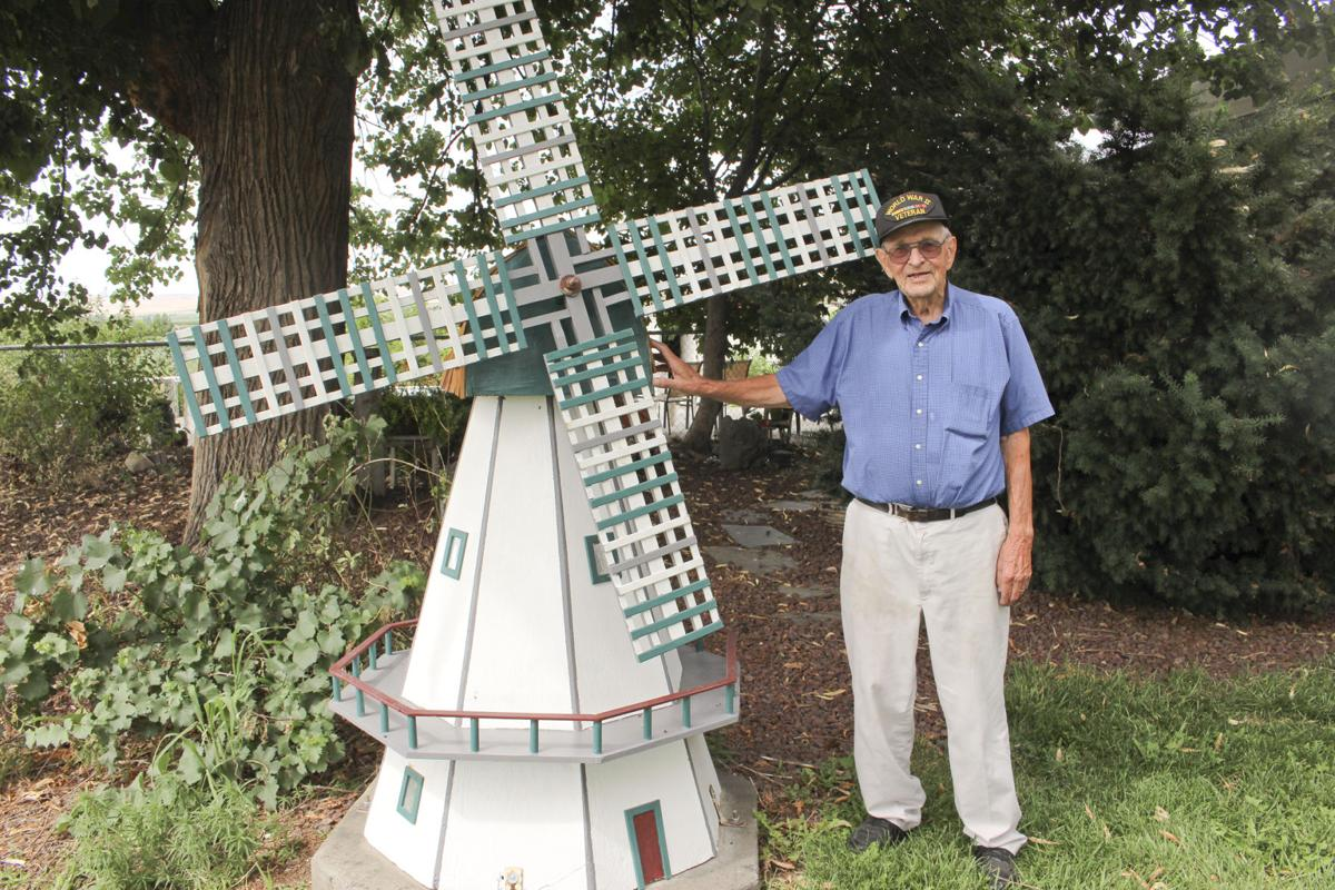 Quaint country windmill brought back to life