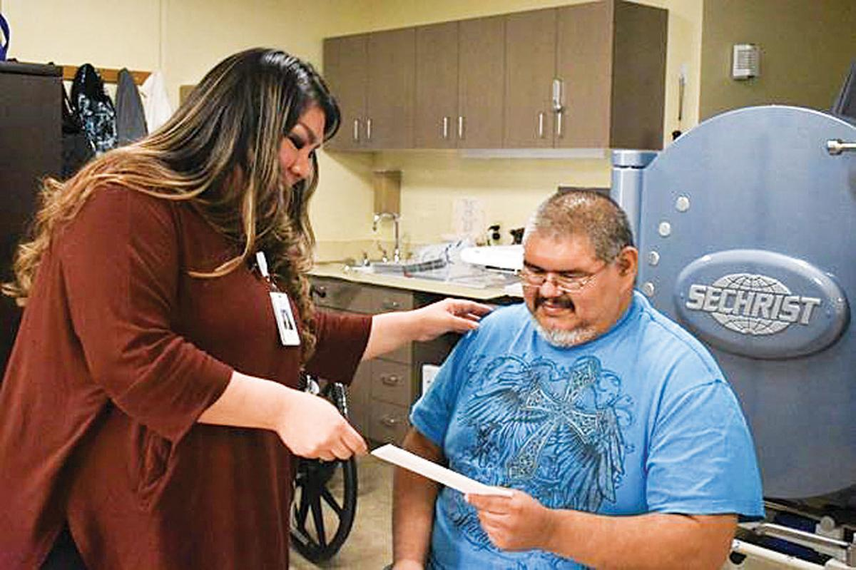 Man's infected limb saved