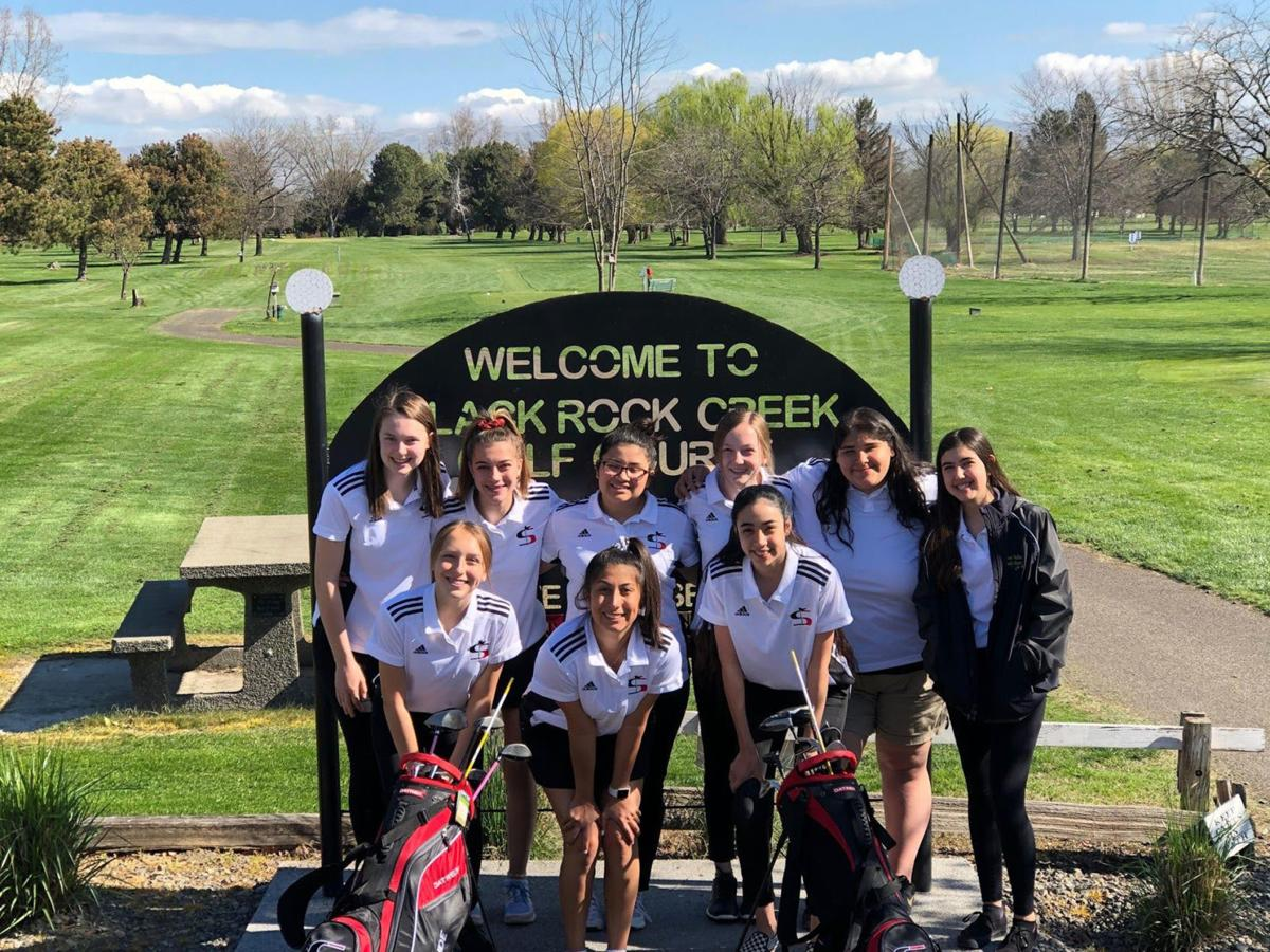 2019 Sunnyside High School girls golf team