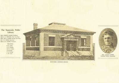 Genevieve (Hutchens) Stevens Lannin: Mother of Sunnyside's Carnegie Library