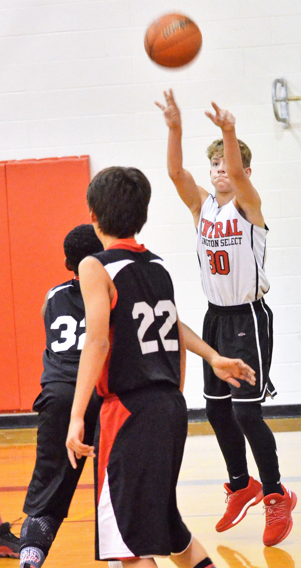 Young hoopsters take to the courts