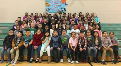 Outlook Elementary School February and March Students of the Month