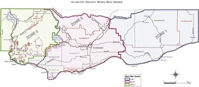 New burn ban zones designated