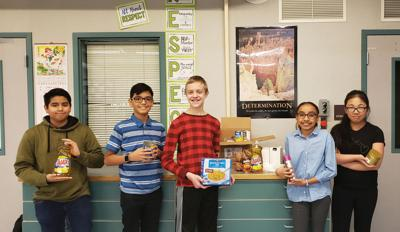 Local students helping classmates