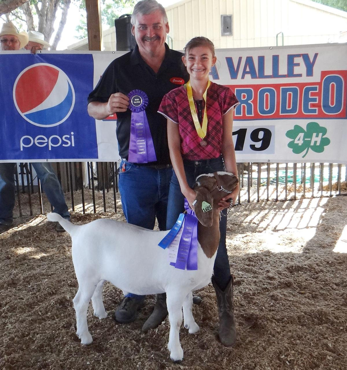 2019 Yakima Valley Fair & Rodeo 4H Market Goat