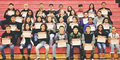 Harrison Middle School March Students of the Month