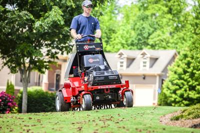 Fall is a great time to aerate the lawn