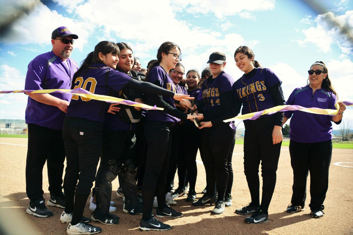Lady Vikes debut new field
