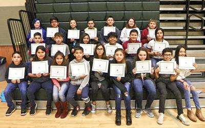 Sierra Vista Middle School October Student of the Month | Education