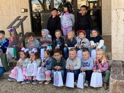 First Financial Holds Annual Easter Egg Hunt