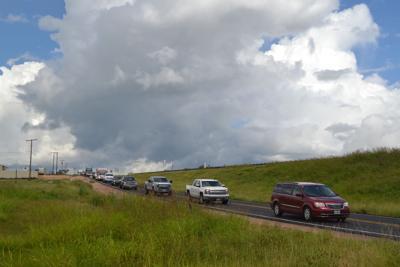 8 Vehicle Crash on Rain-slicked I-20 Sends 3 to Hospital