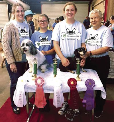 Locals Bring Home Awards from 11th State 4-H Dog Show