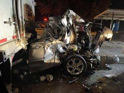 Two Transported to Area Hospital After Wrecks