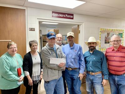 Nolan County Farm Bureau Gives to Local Food Pantry