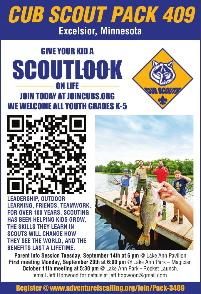 CUB SCOUT PACK 409 Excelsior, Minnesota