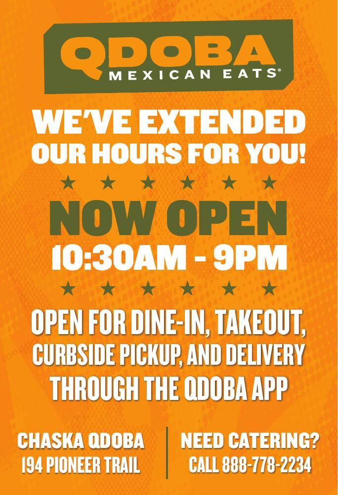WE'VE EXTENDED OUR HOURS FOR YOU! NOW